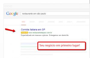 Google Adwords Anuncie nos Links Patrocinados